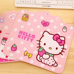 Hello Kitty Mouse Pad Thin Kitty Strawberry Hearts